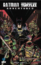 IDW Publishing's Batman / Teenage Mutant Ninja Turtles Adventures TPB # 1sdcc