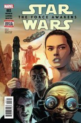 Marvel's Star Wars: Episode VII: The Force Awakens Adaptation Issue # 3