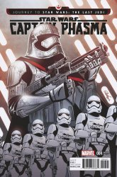 Marvel Comics's Journey to Star Wars: The Last Jedi - Captain Phasma Issue # 4d