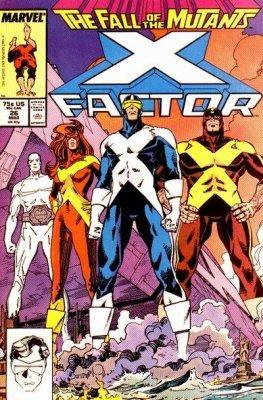 X-Factor 1986 series # 36 fine comic book