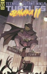 IDW Publishing's Teenage Mutant Ninja Turtles: Jennika II Issue # 6