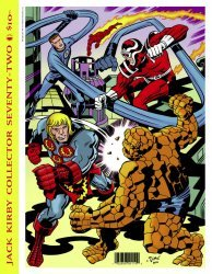 TwoMorrows Publishing's The Jack Kirby Collector Issue # 72