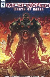 IDW Publishing's Micronauts: Wrath of Karza Issue # 4c