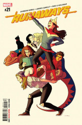 Marvel Comics's Runaways Issue # 21