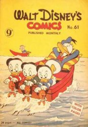 W.G.(Wogan)Publications's Walt Disney's Comics Issue # 61