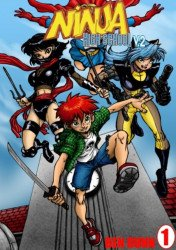 Antarctic Press's Ninja High School TPB # 1