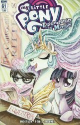 IDW Publishing's My Little Pony: Friendship is Magic Issue # 61b