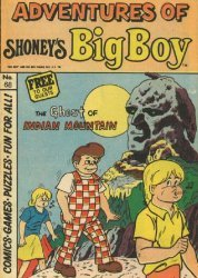 Paragon Products's Adventures of Shoney's Big Boy Issue # 68