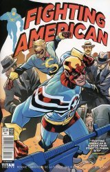 Titan Comics's Fighting American Issue # 3