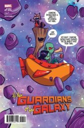 Marvel Comics's All-New Guardians of The Galaxy Issue # 1e