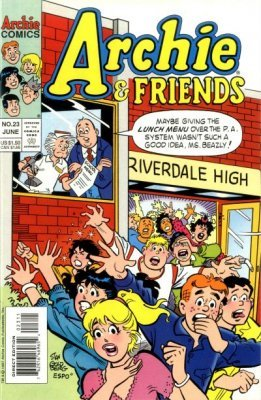Archie Comics Groups Friends Issue 23