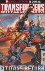 IDW Publishing's Transformers: More Than Meets the Eye Issue # 56ri