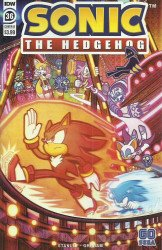 IDW Publishing's Sonic the Hedgehog Issue # 36b