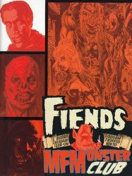 Rat House Comics's Fiends MFMonster Club Issue # 1