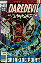 Marvel Comics's Daredevil Issue # 147