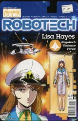 Titan Comics's Robotech Issue # 5c