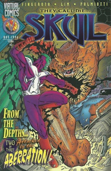 Byron Press Virtual Comicss The Skul Issue 2