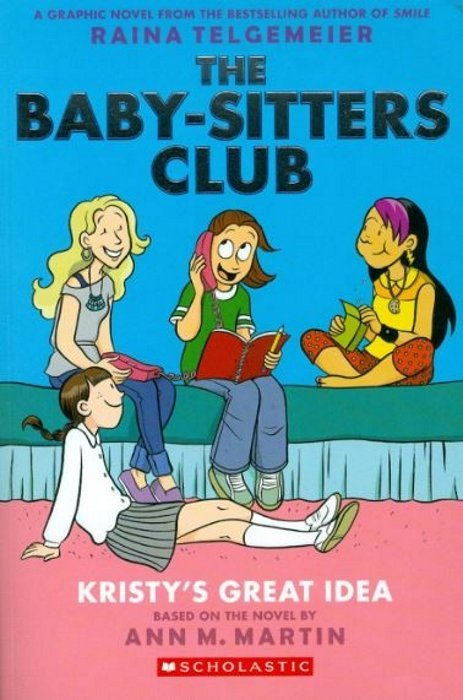 the baby sitters club hard cover 1b graphix. Black Bedroom Furniture Sets. Home Design Ideas