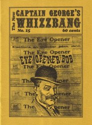 Memory Lane Publications's New Captain George's Whizzbang Issue # 15