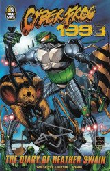 ALL CAPS Comics's Cyberfrog: 1998 Issue ashcan