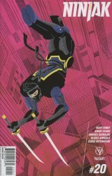 Valiant Entertainment's Ninjak Issue # 20d
