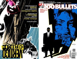Vertigo's 100 Bullets / Crime Line Sampler Issue # 1