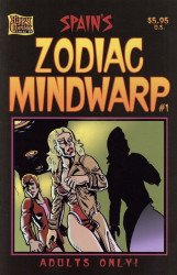 Hippy Comix Inc's Spain's Zodiac Mindwarp Issue # 1