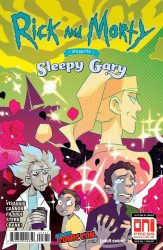 Oni Press's Rick and Morty Presents: Sleepy Gary Issue # 1nycc