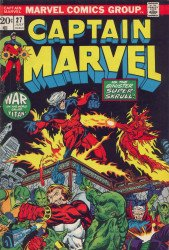 Marvel Comics's Captain Marvel Issue # 27