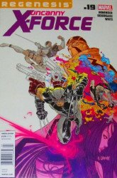 Marvel Comics's Uncanny X-Force Issue # 19b