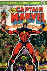 Marvel Comics's Captain Marvel Issue # 32