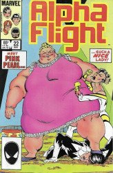 Marvel Comics's Alpha Flight Issue # 22