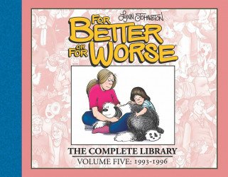IDW Publishing's For Better or for Worse: Complete Library Hard Cover # 5