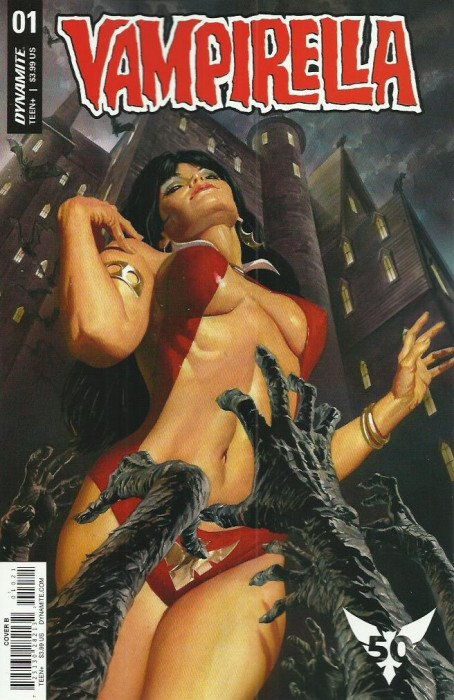 All Base Variant Covers Comic Lot Vampirella #2 Dynamite 2019