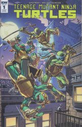 IDW Publishing's Teenage Mutant Ninja Turtles Issue # 1game edition-b