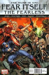 Marvel Comics's Fear Itself: The Fearless Issue # 1b