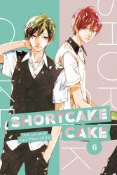 Viz Media's Shortcake Cake Soft Cover # 6