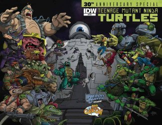 IDW Publishing's Teenage Mutant Ninja Turtles: 30th Anniversary Special Issue # 1prcc/hero