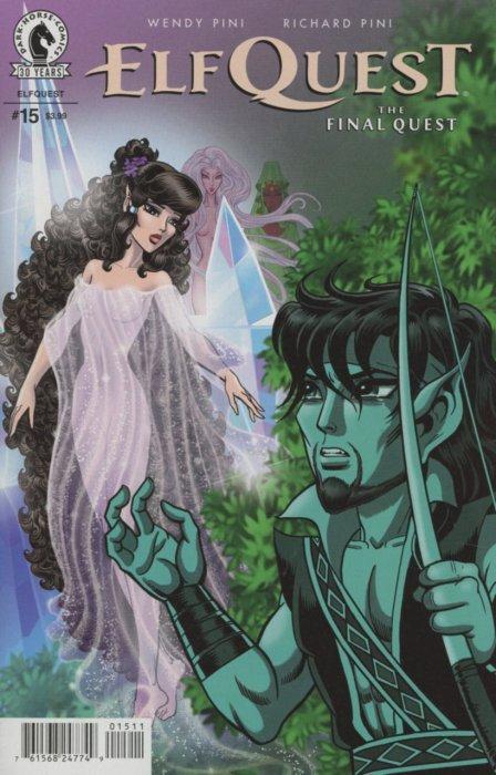 Creative Book Cover Quest : Elfquest the final quest dark horse comics
