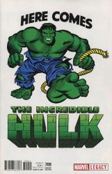 Marvel Comics's The Incredible Hulk Issue # 709b