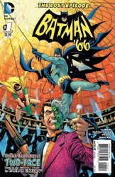DC Comics's Batman '66: The Lost Episode Issue # 1b