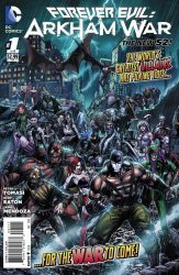 DC Comics's Forever Evil: Arkham War Issue # 1