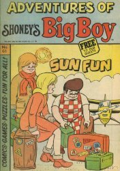 Paragon Products's Adventures of Shoney's Big Boy Issue # 61