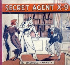 David McKay Publications's Secret Agent X-9 Hard Cover # 1