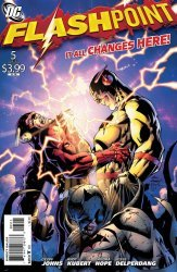 DC Comics's Flashpoint Issue # 5
