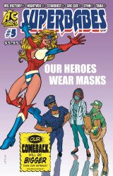 AC Comics's Superbabes Comics Issue # 5