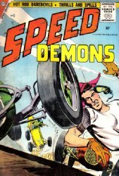 Charlton Comics's Speed Demons Issue # 5
