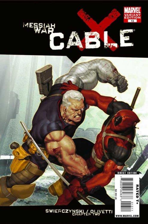 2008 1st Print Marvel Comics #1-15 Run Vf Cable
