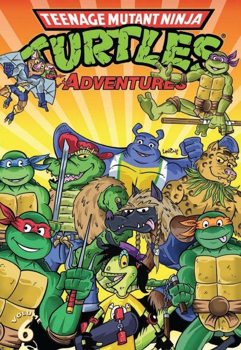 Teenage Mutant Ninja Turtles Adventures Volume 16 (TMNT ...