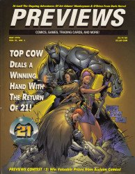 Diamond Comics Distribution's Previews Issue # 92